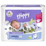 Подгузники Bella Baby Happy 1 Newborn 2-5 кг. (25 шт.)