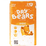 Подгузники Dry Bears Fun Care 2 mini 52 шт. (3-6 кг.)