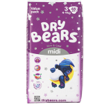 Подгузники Dry Bears Slim Cool 3 Midi 48 шт. (4-9 кг.)