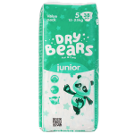 Подгузники Dry Bears Slim Cool 5 Junior 38 шт. (15-25 кг.)